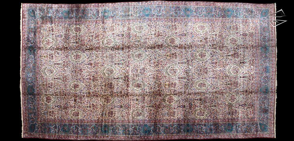15x30 Persian Kerman Rug