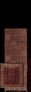 11' Wide rugs