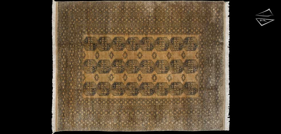 10x13 Afghan Ersari Rug