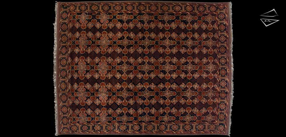 10x13 Afghan Taghan Rug