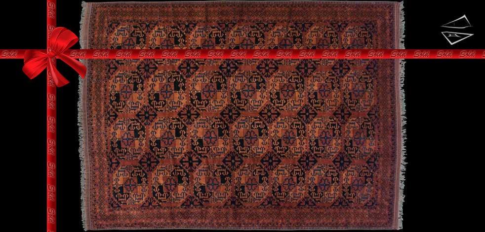 10x12 Afghan Taghan Square Rug