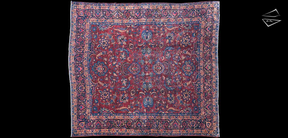 11x13 Agra Square Rug
