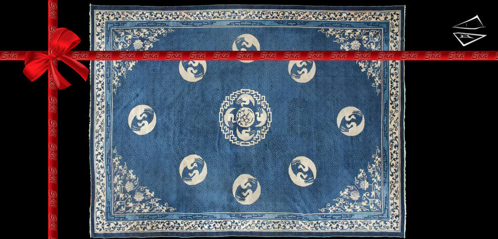14x19 Antique Peking Rug