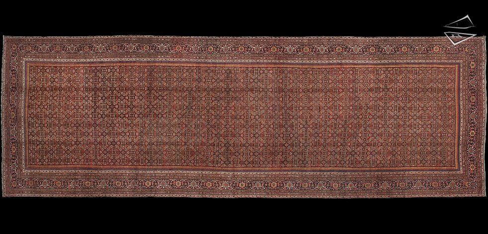 12x36 Antique Persian Feraghan Rug