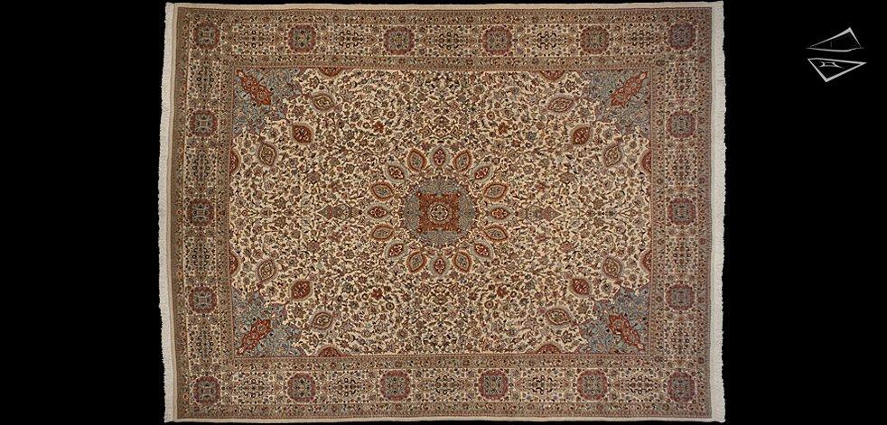 13x17 Ardabil Persian Tabriz Rug