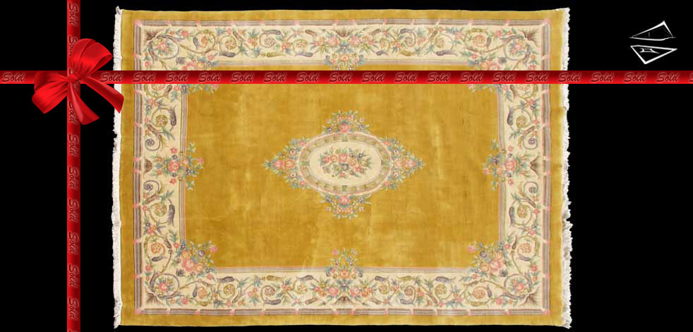 10x14 Aubusson Design Rug