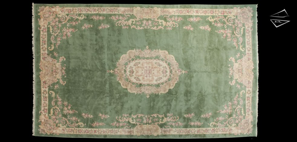 12x20 Aubusson Design Rug