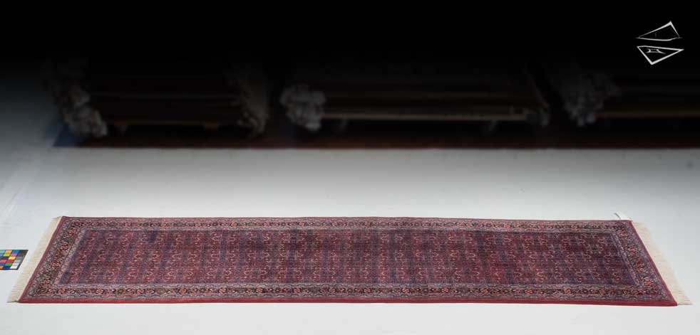 4x14 Bijar Design Rug Runner