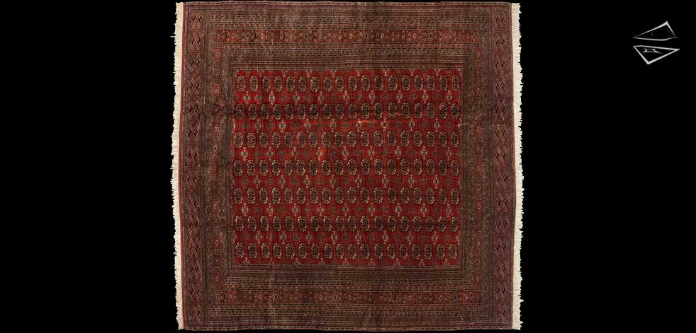 12x12 Bokhara Square Rug