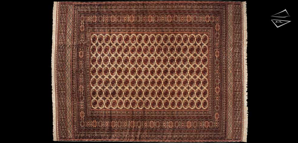 12x16 Bokhara Rug