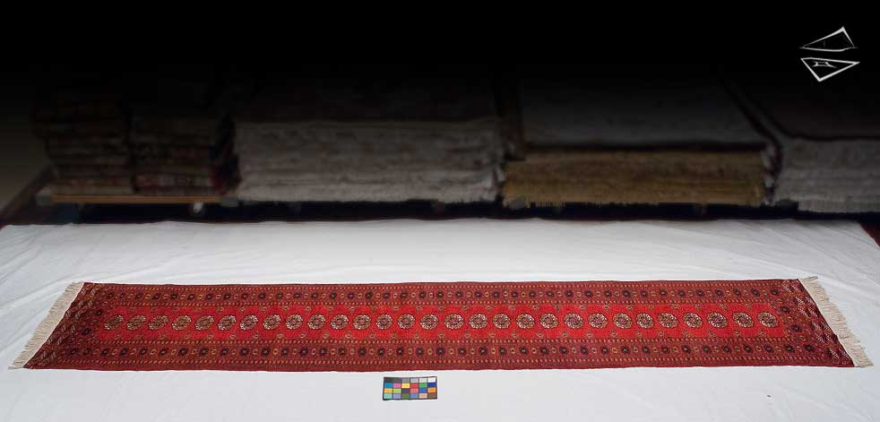 3x15 Bokhara Rug Runner