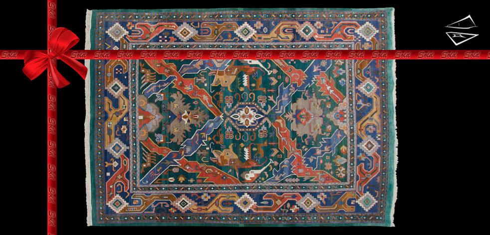 8x11 Caucasian Design Rug