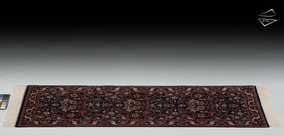 2.6x7 Dabir Kashan Design Rug Runner