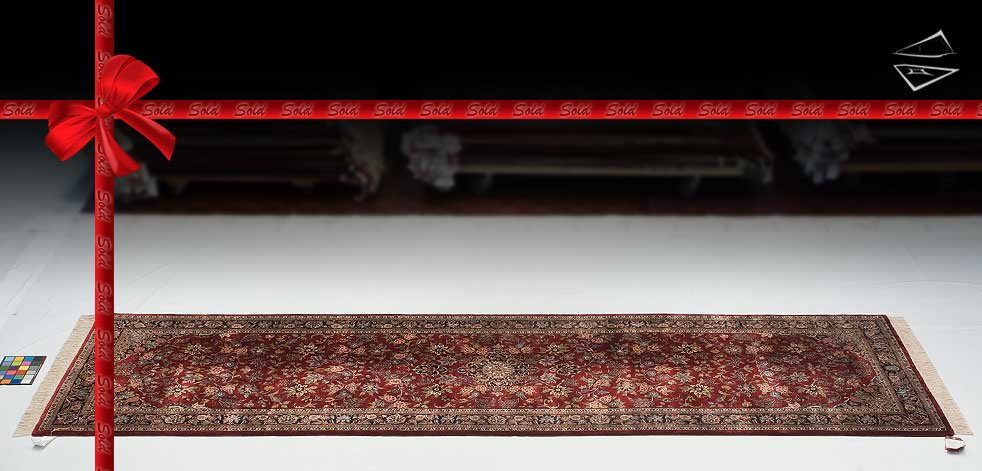 4x14 Dabir Kashan Design Rug Runner