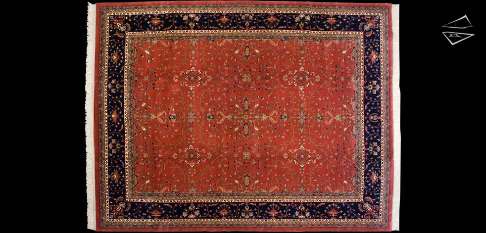 12x15 Farahan Sarouk Design Rug