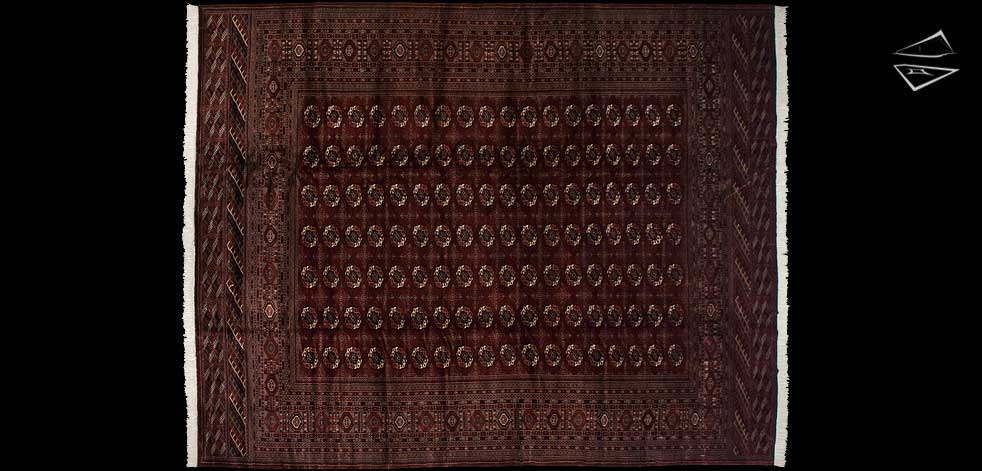 12x15 Fine Bokhara Rug