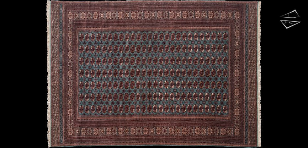 12x17 Fine Bokhara Rug