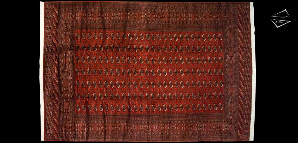 12x18 Fine Bokhara Rug
