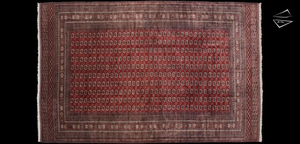16x25 Fine Bokhara Rug