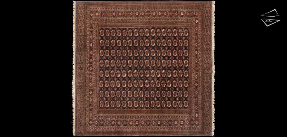 12x12 Fine Bokhara Square Rug
