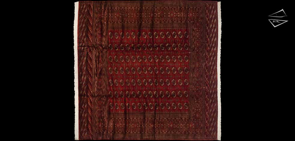 12x12 Fine Bokhara Square Rug