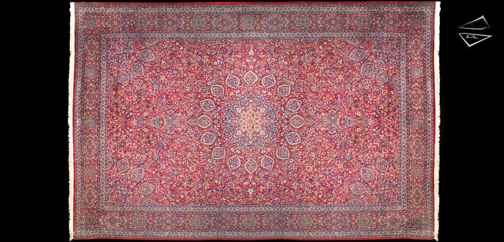 12x18 Fine Persian Meshed Rug