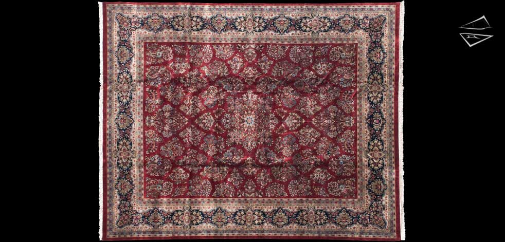 12x15 Fine Sarouk Design Rug