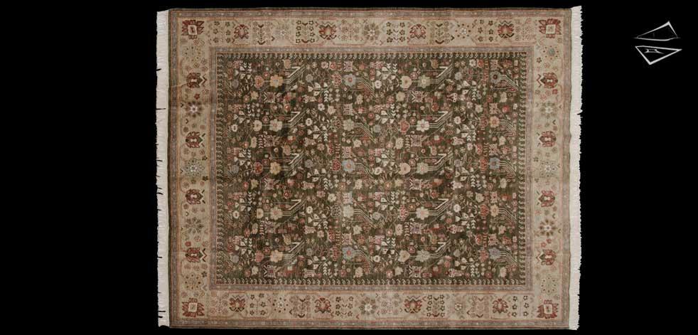 8x10 Hamedan Design Rug