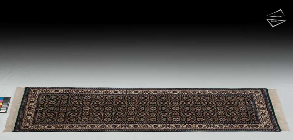 2.6x7 Herati Design Rug Runner