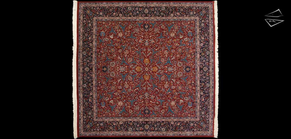 12x12 Isfahan Design Rug