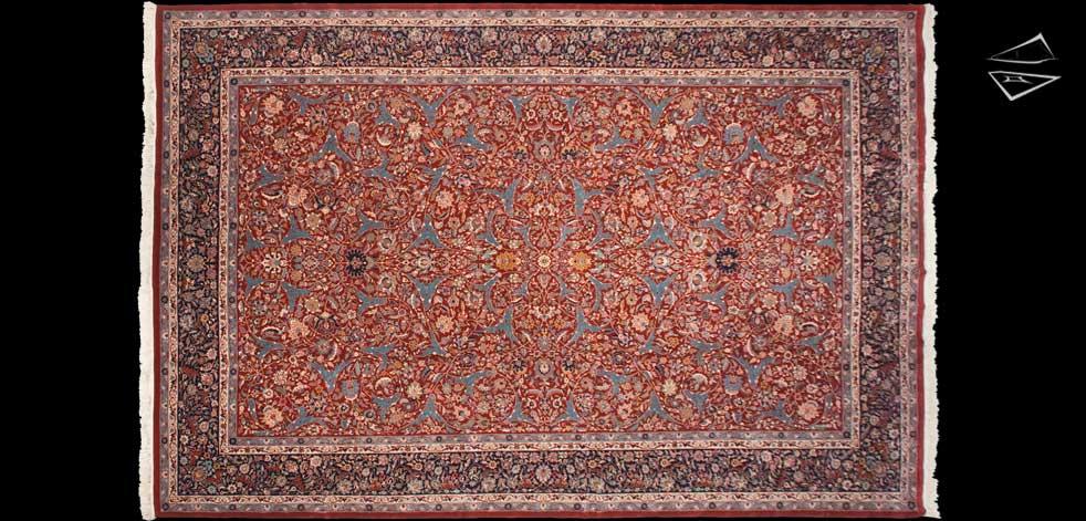 12x18 Isfahan Design Rug