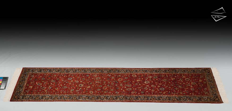 "2'6""x10 Isfahan Design Rug Runner"