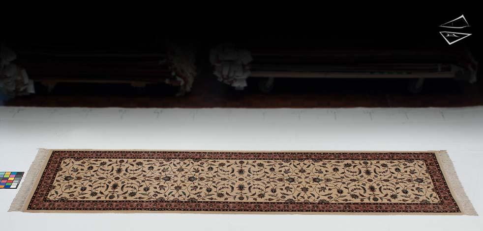 "2'7""x11 Isfahan Design Rug Runner"
