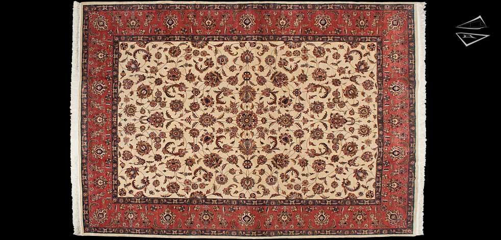 9x13 Isfahan Design Rug