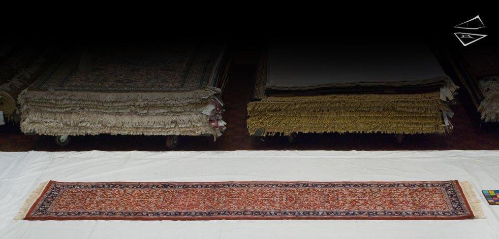 2x12 Isfahan Design Rug Runner
