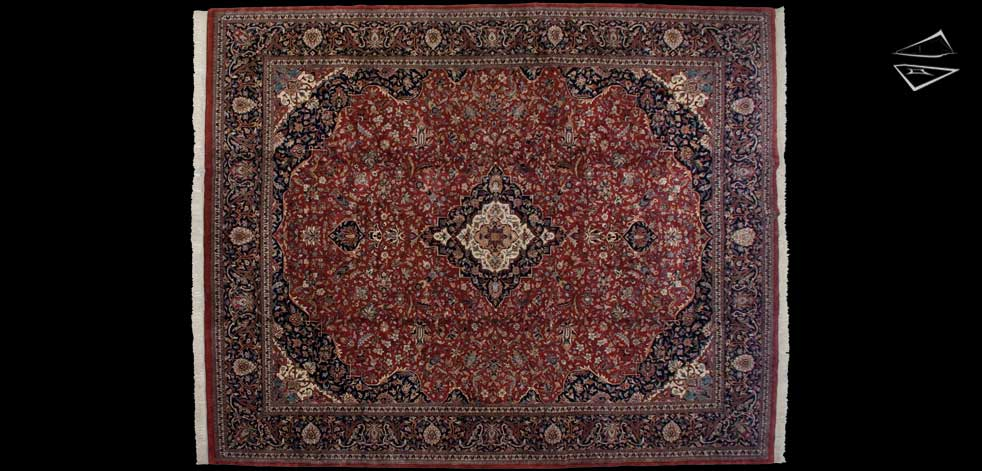 12x15 Kashan Design Rug