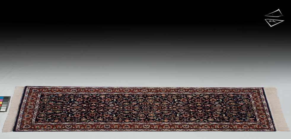 2.6x7 Kashan Design Rug Runner