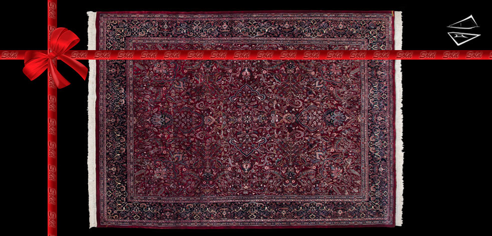 8x11 Kashan Design Rug