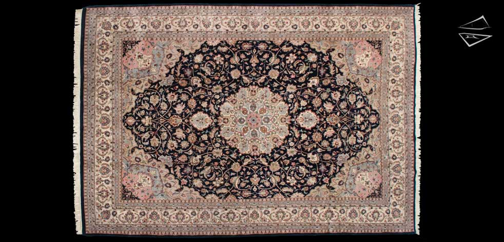 9x13 Kashan Design Rug