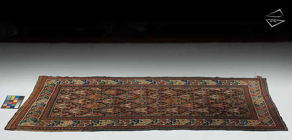 4x9 Kazak Rug Runner