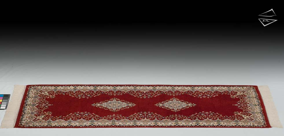 2.6x7 Kerman Design Rug Runner