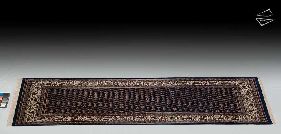 2.6x6 Mir Sarouk Design Rug Runner