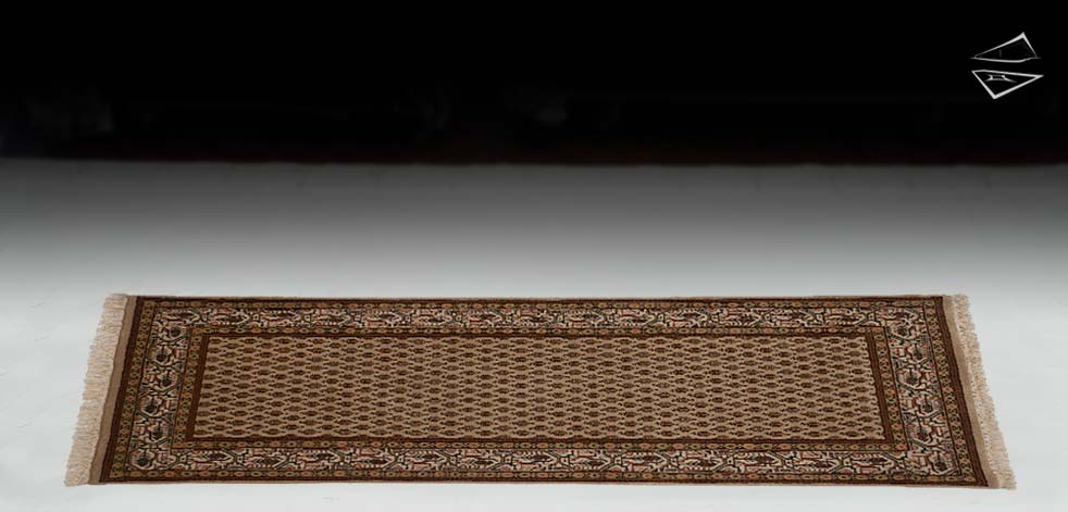 "2'6""x6 Mir Sarouk Design Rug Runner"
