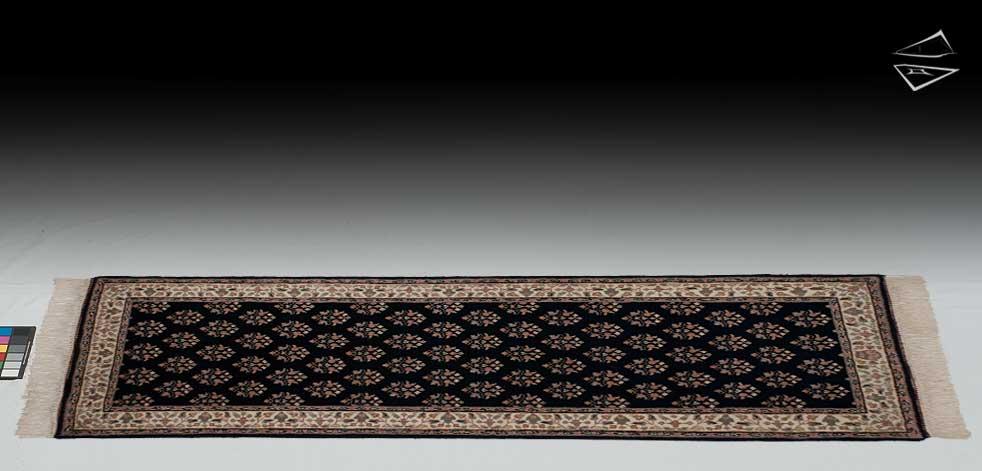 3x7 Mir Sarouk Design Rug Runner