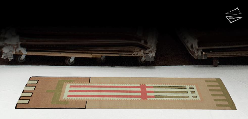 3x10 Modern Dhurrie Rug Runner
