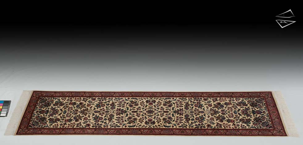 "2'7""x10 Pak Persian Design Rug Runner"