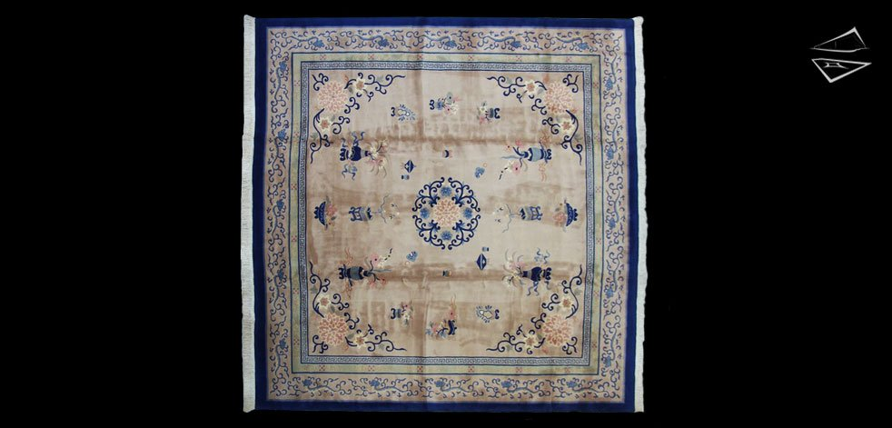12x12 Peking Design Square Rug