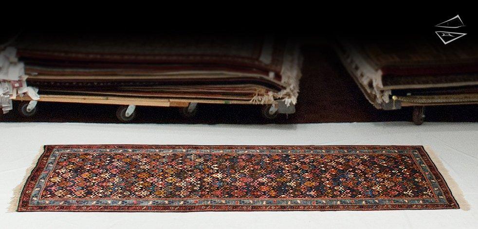 3x10 Persian Ardebil Rug Runner