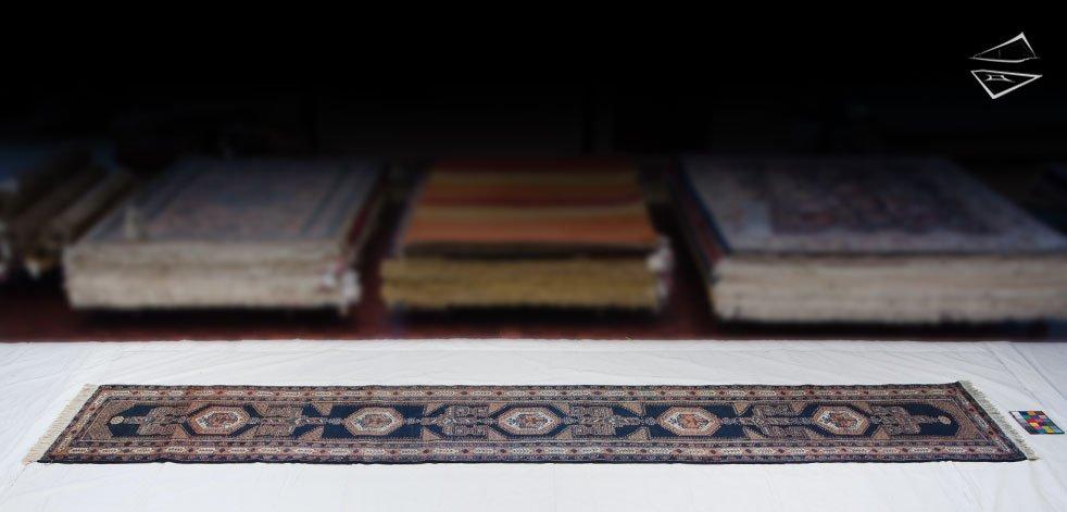 3x18 Persian Ardebil Rug Runner