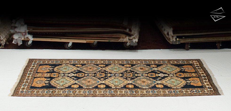 5x11 Persian Ardebil Rug Runner